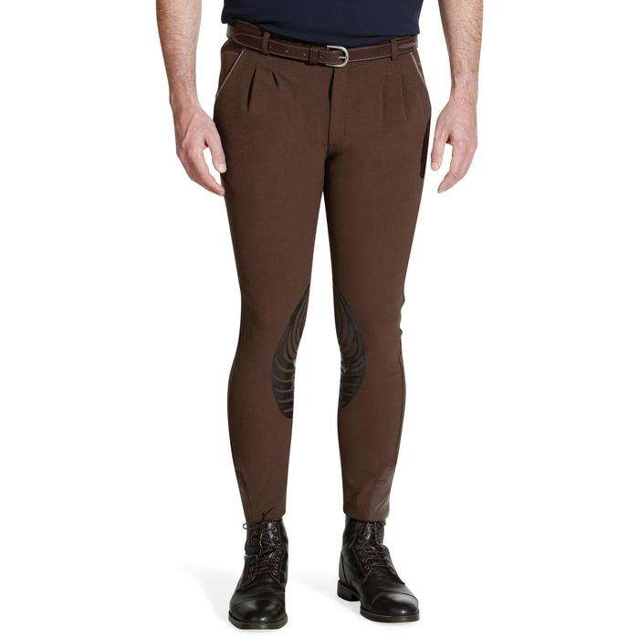 Pantalon équitation homme BR560 GRIP basanes silicone - 1137762