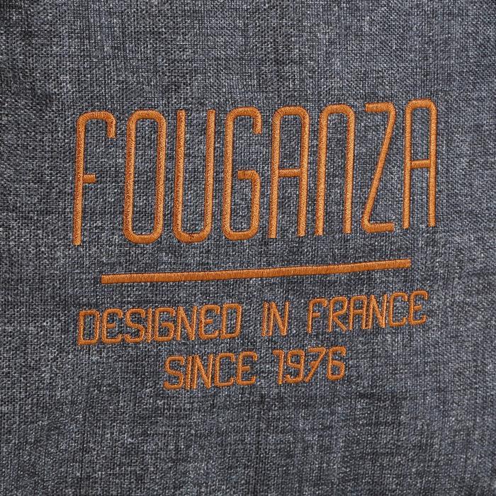 Putzzeug-Tasche Vanity grau/camel