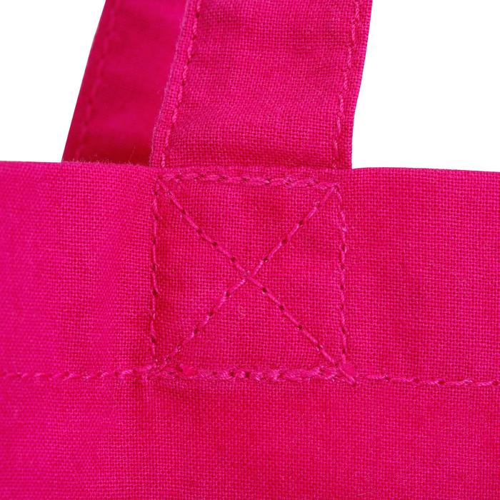 sac de pansage équitation en coton INDIAN rose