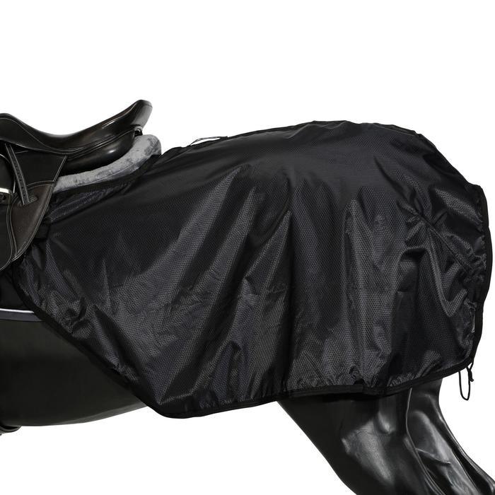 Nierendecke Allweather Pony/Pferd, wasserdicht schwarz