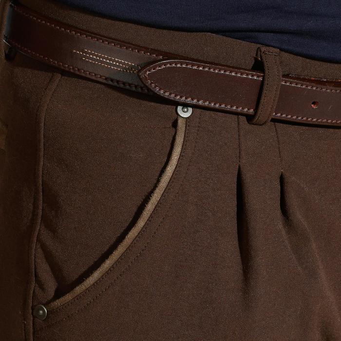 Pantalon équitation homme BR560 GRIP basanes silicone - 1137826