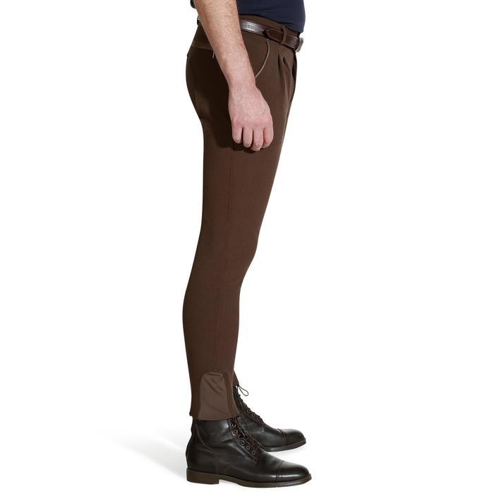 Pantalon équitation homme BR560 GRIP basanes silicone - 1137853