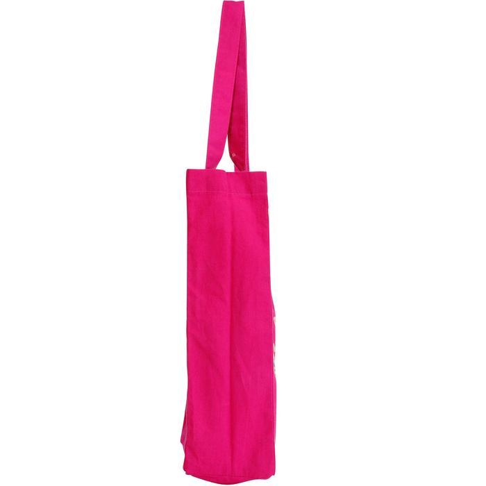 Katoenen verzorgingstas Indian ruitersport roze