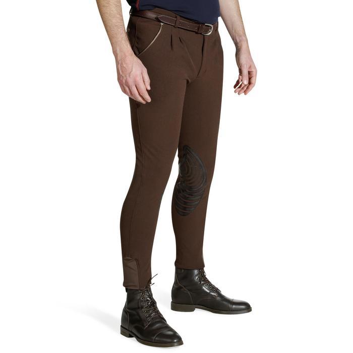 Pantalon équitation homme BR560 GRIP basanes silicone - 1137863