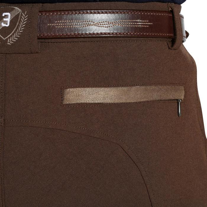 Pantalon équitation homme BR560 GRIP basanes silicone - 1137868