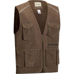 Vest met veel zakken Sentier voor volwassenen ruitersport
