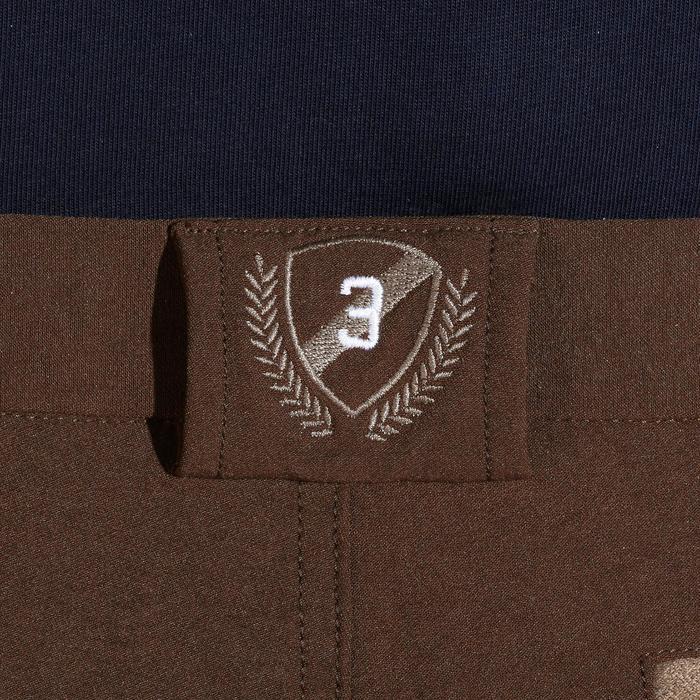 Pantalon équitation homme BR560 GRIP basanes silicone - 1137890