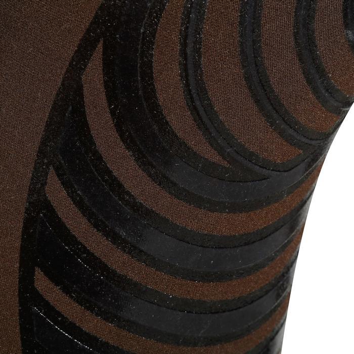 Reithose BR560 Silikon-Kniebesatz Herren braun