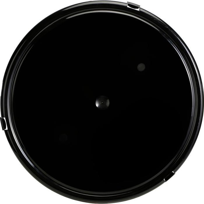 Deksel voor stalemmer zwart - 1137946