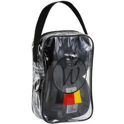 Ruhebandagen 2er-Pack Pferd 3m schwarz