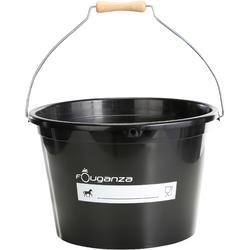 Stalleimer 17 Liter schwarz