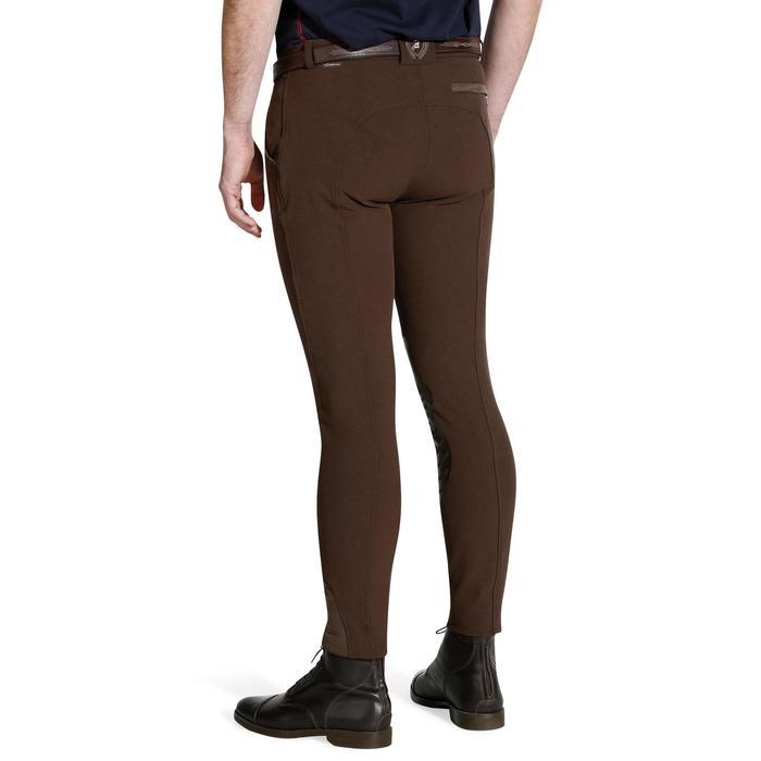 Pantalon équitation homme BR560 GRIP basanes silicone - 1138050