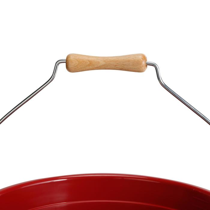Stalleimer 17 Liter rot