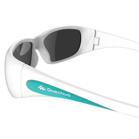 Gafas de sol de travesía para niños 7-9 años TEEN 300 blancas categoría 4 db6c4706e421