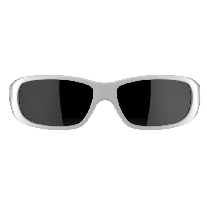 Lunettes de soleil de randonnée enfant 7-9 ans TEEN 300 noires catégorie 4 - 1138088