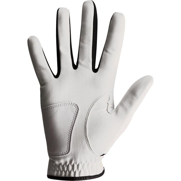 Gant de golf femme 100 débutante gauchère blanc