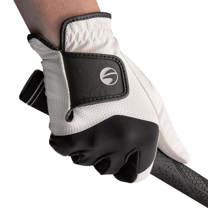 Golfhandschoen 100 voor heren, beginners, linkshandig wit - 1138221