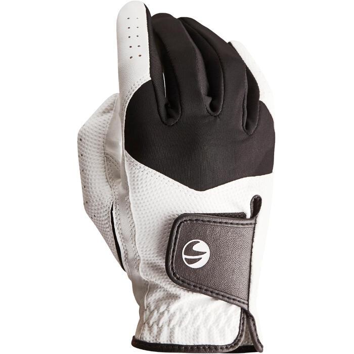 Golfhandschoen 100 voor heren, beginners, linkshandig wit - 1138222