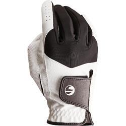 Golfhandschuh 100 Linkshand (für die rechte Hand) Einsteiger Herren weiß