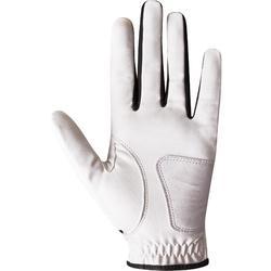 100 兒童高爾夫運動右手桿手套 - 白色