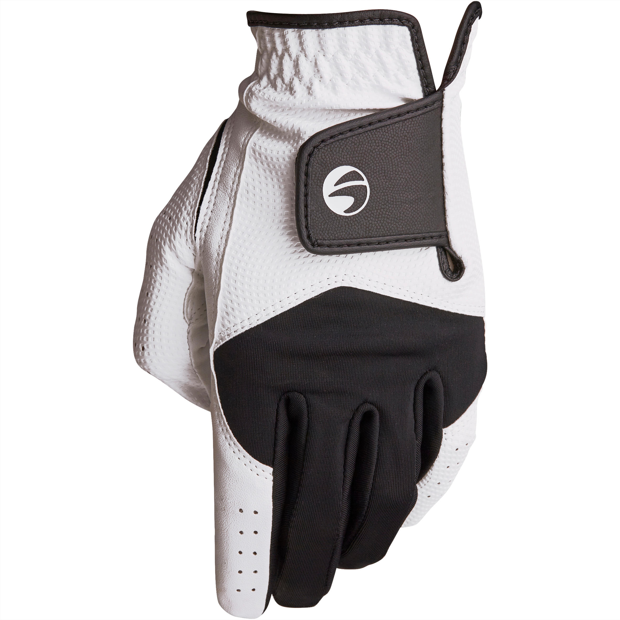 Junior Golf Glove 100 Right-Handed White