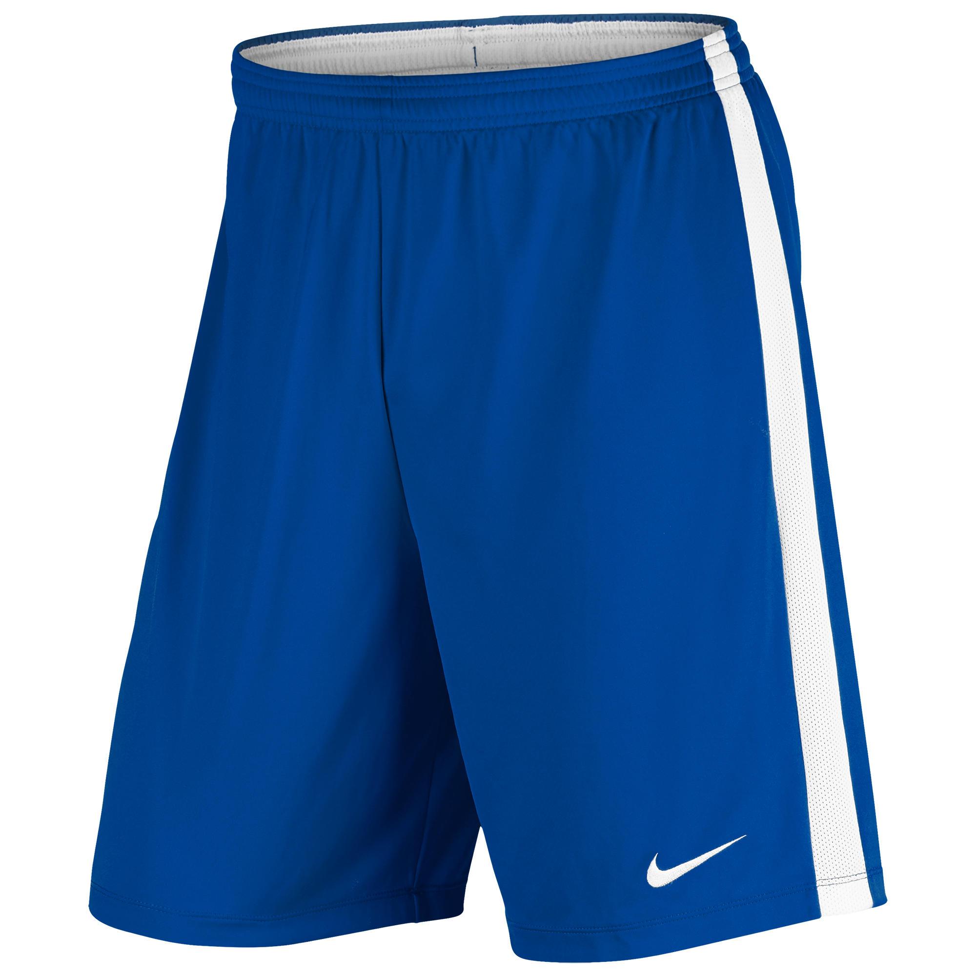 Nike Voetbalbroekje Academy voor volwassenen blauw