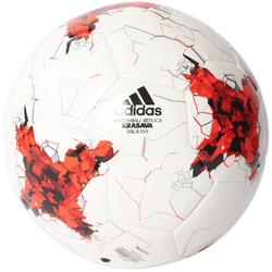 Zaalvoetbal Confed wit/rood