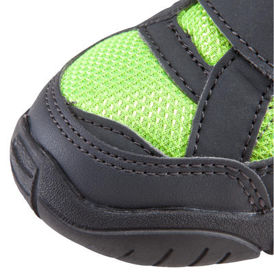 Arpenaz 50 Children's Hiking Rip-Tab Shoes green