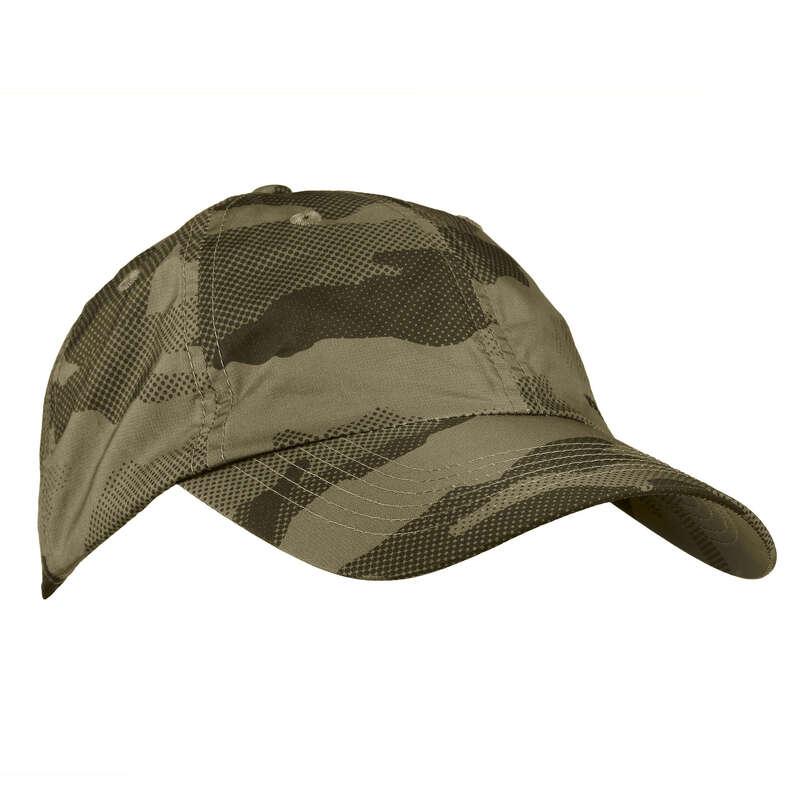 Caschetă/pălărie/bob vânătoare Imbracaminte - Șapcă Vânătoare Light Verde  SOLOGNAC - Accesorii