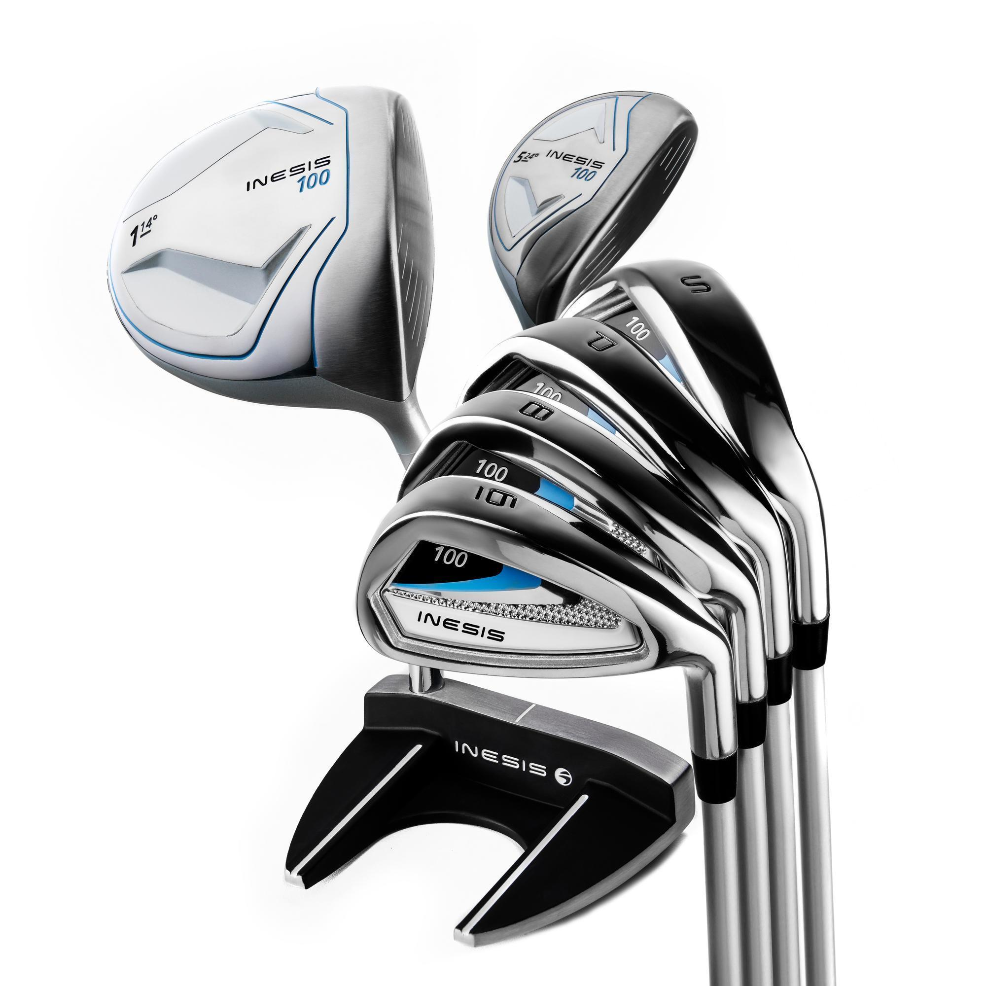 kit de golf 7 clubs femme droiti re 100 inesis golf. Black Bedroom Furniture Sets. Home Design Ideas