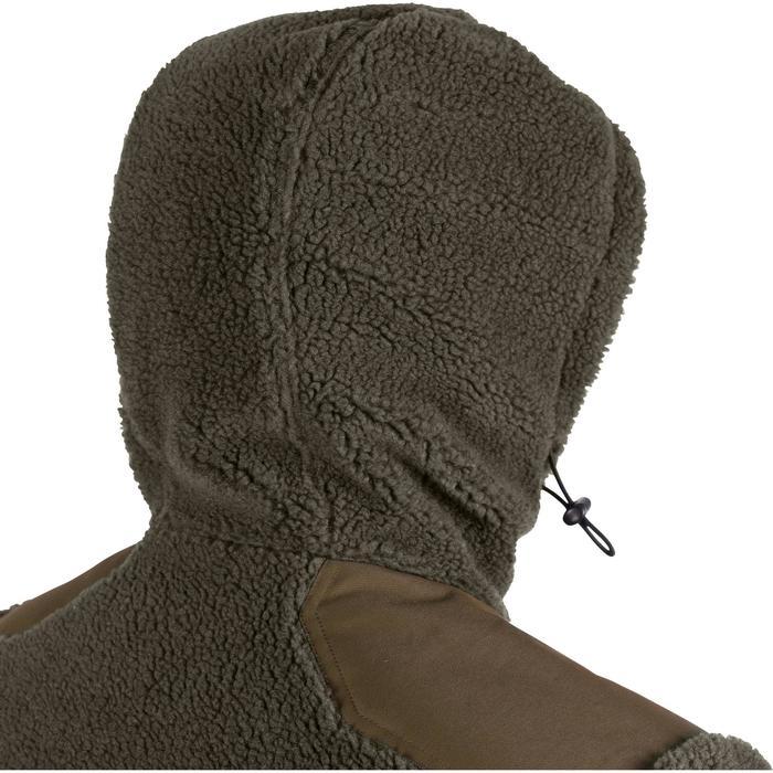 Polaire chasse moutonnée 900 vert - 1138615