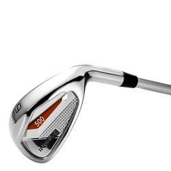 Golf iron 500 nr. 9 voor kinderen van 8-10 jaar rechtshandig - 1138703