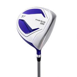 Golf driver 500 voor kinderen van 11-13 jaar rechtshandig