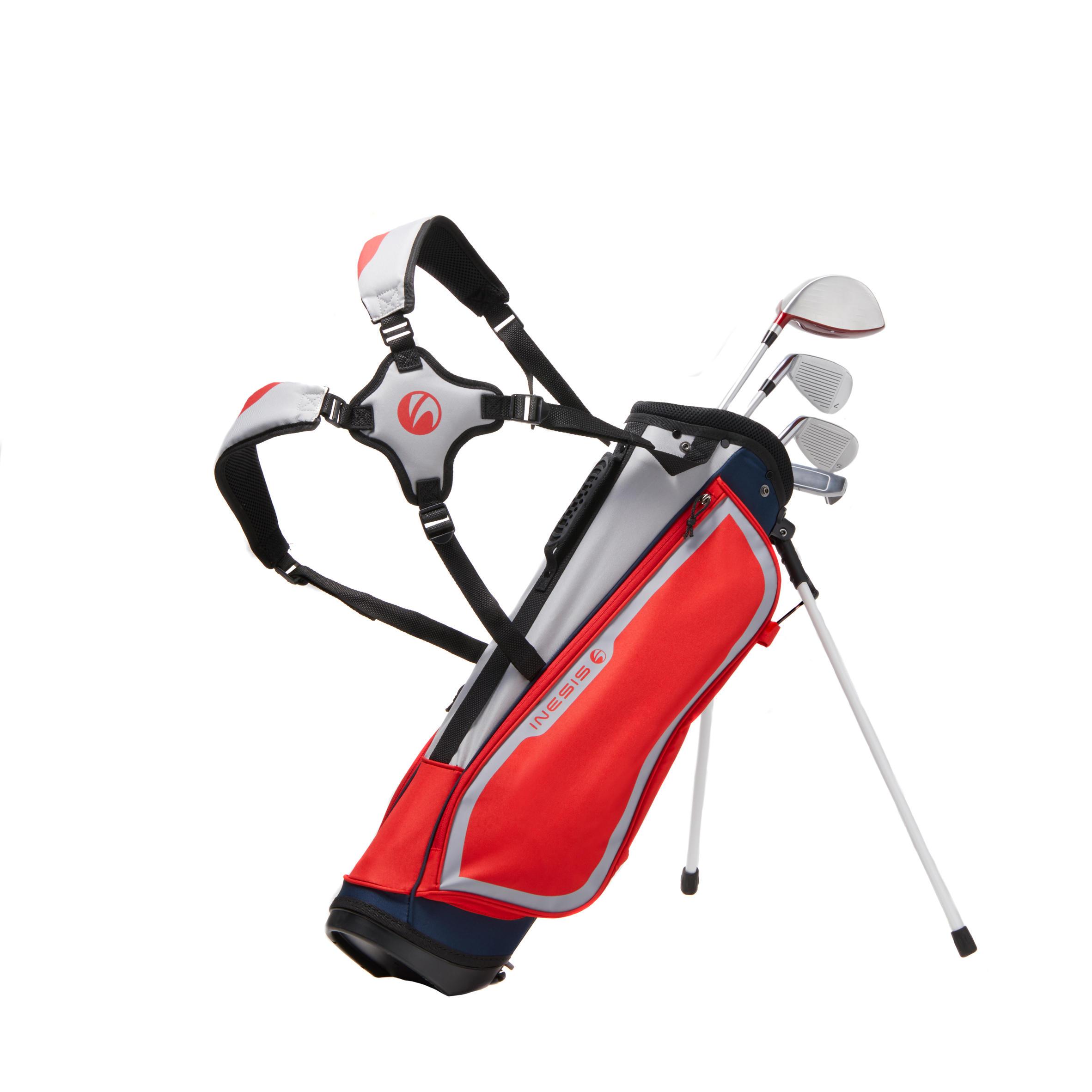 ENSEMBLE de golf enfant 8-10 ANS droitier 500