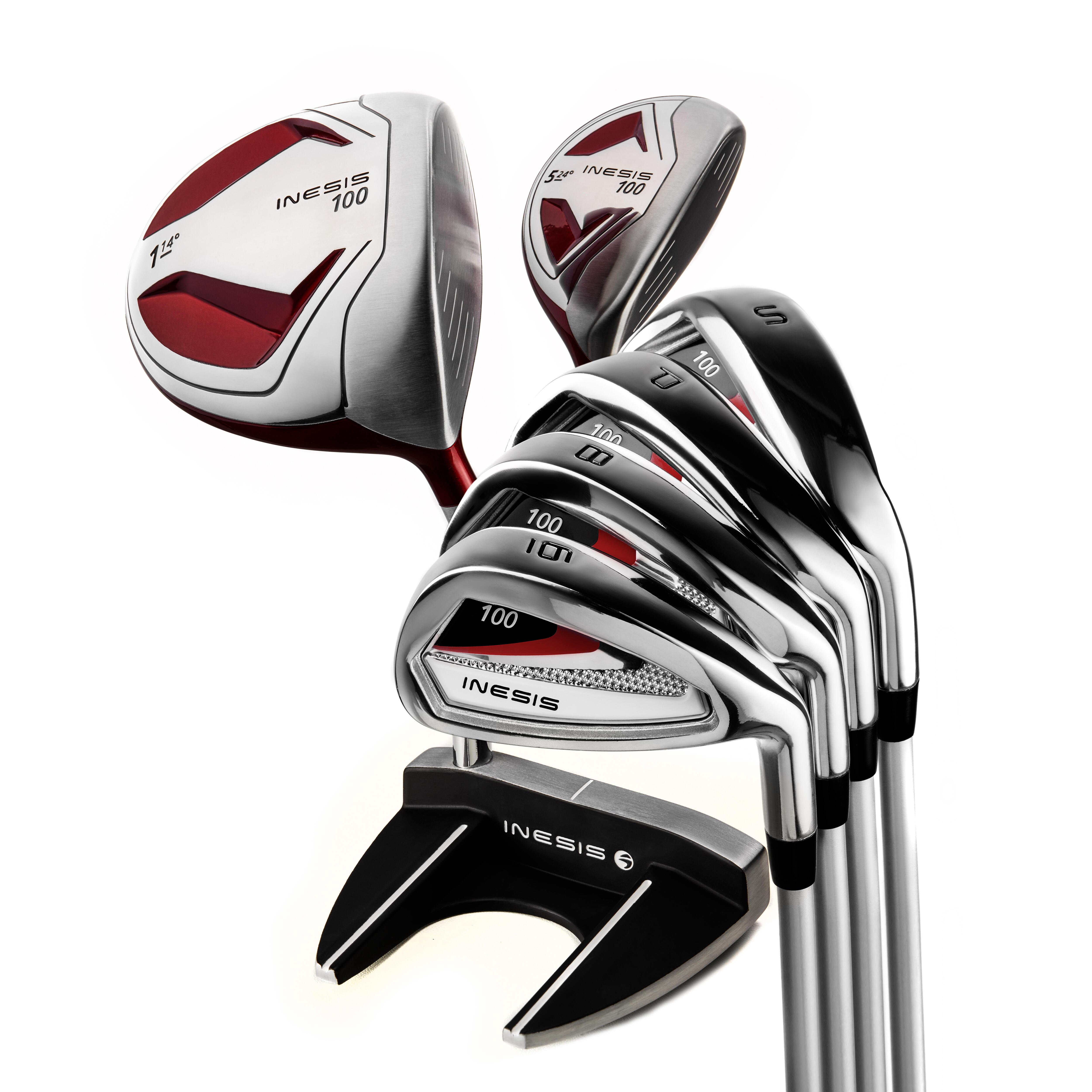Inesis Golfset 7 clubs 100 voor heren rechtshandig