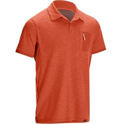 Polo manches courtes TRAVEL 100 Homme rouge