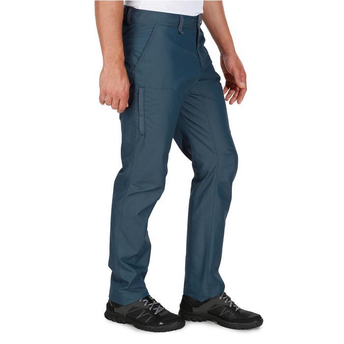 Pantalon randonnée nature homme NH500 gris foncé - 1139084