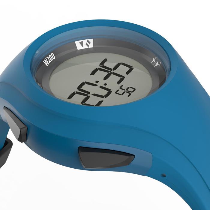 Montre chronomètre de course à pied W200 M bleue marine