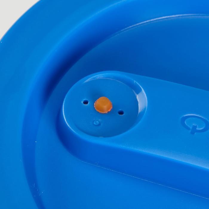 Plastic bewaardoosje voor trekking 0,35 liter