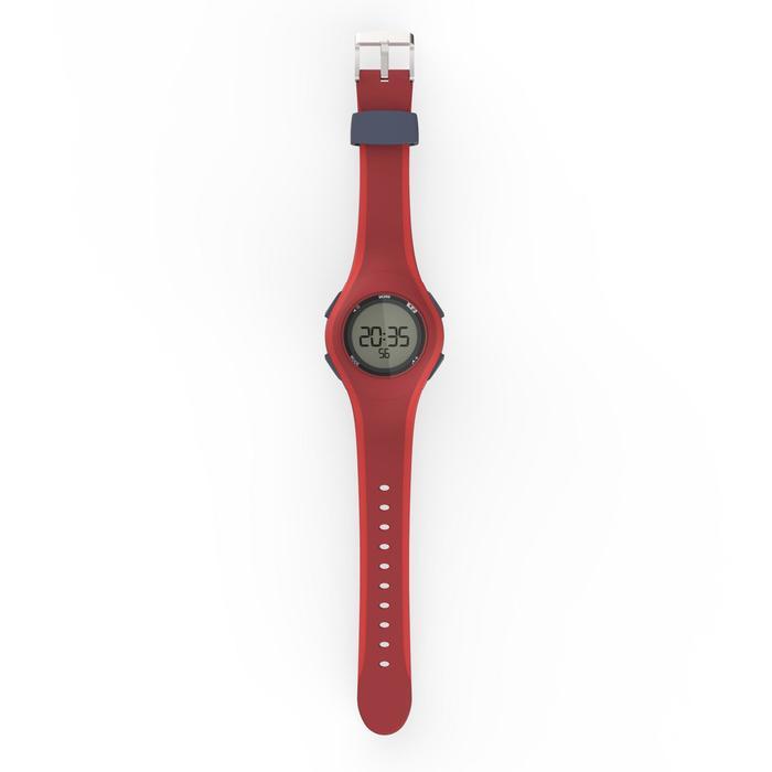 Stopwatch horloge voor hardlopen heren W200 M rood