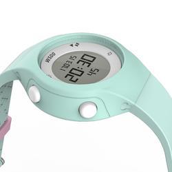 Reloj cronómetro running mujer W500 S VERDE PASTEL