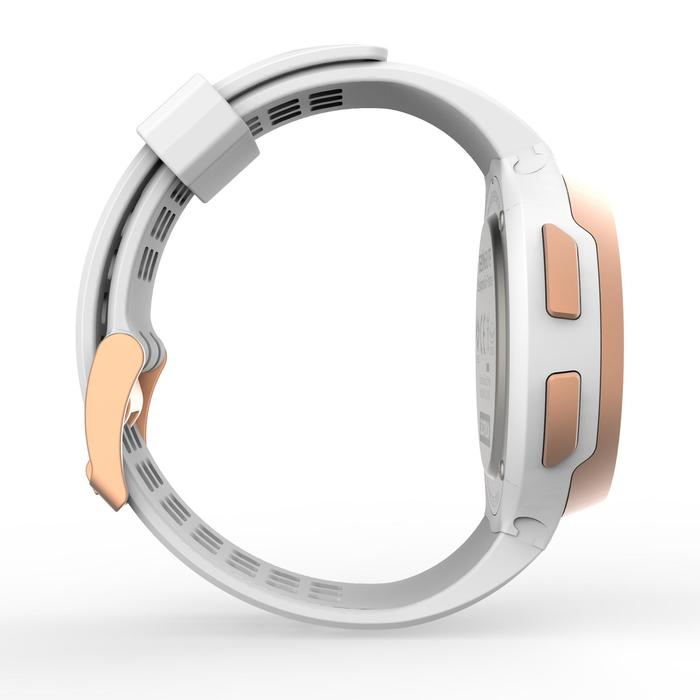 Reloj cronómetro running hombre W900 blanco y cobre