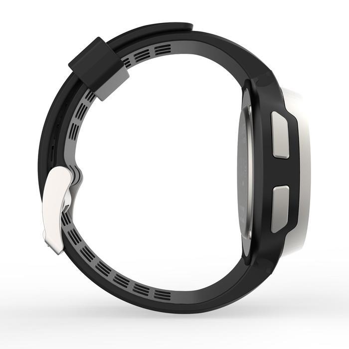 Montre chronomètre de course à pied homme W900 noire reverse - 1139463