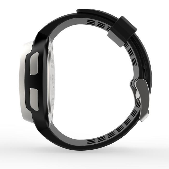 Montre chronomètre de course à pied homme W900 noire reverse - 1139473