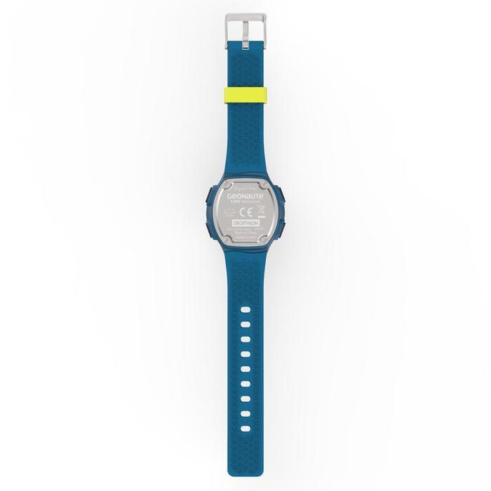 Montre chronomètre de course à pied homme W500 M noire reverse - 1139535