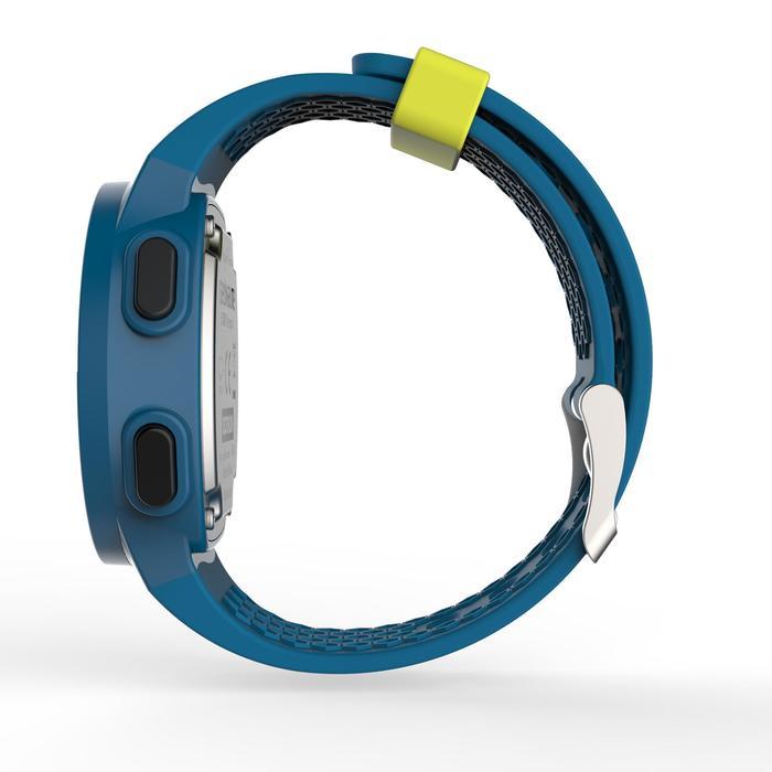 Montre chronomètre de course à pied homme W500 M noire reverse - 1139567