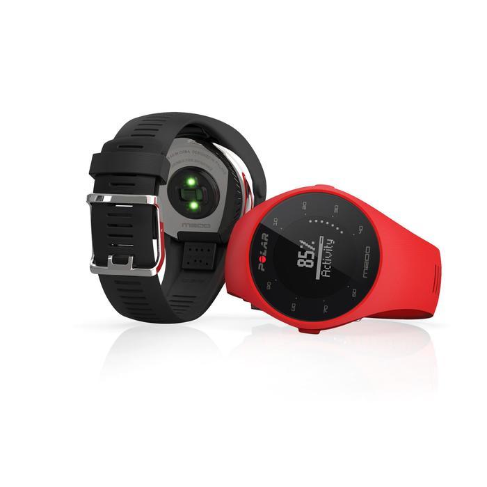 Montre GPS de course à pied avec cardio au poignet M200 noir (M/L) - 1139679