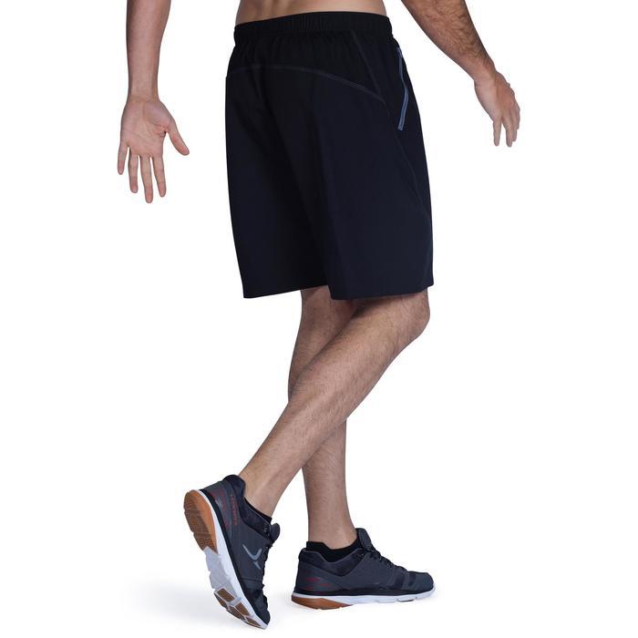 Sporthose kurz FST120 Fitness Herren schwarz