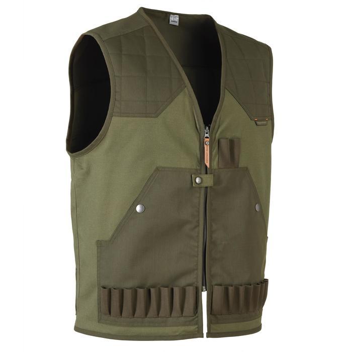Gilet chasse 100 vert - 1139945