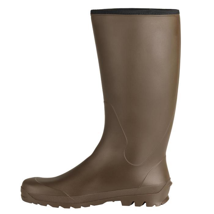 Warme jachtlaarzen Glenarm 100 bruin